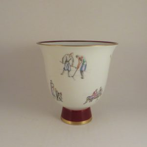 Gio Ponti Richard Ginori Golf Vase 5.25″