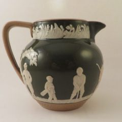 Copeland Spode Jug Green Golf Theme 4″