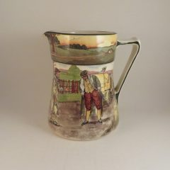 Royal Doulton Series Motoring Jug 'Blood Money' 6.75″
