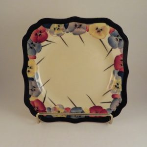 Royal Doulton Pansy Series Plate 7.75″