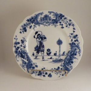 Royal Doulton Golf Series Picturesque Plate #1 10.25″