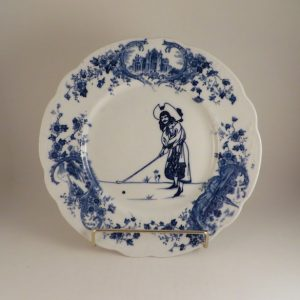 Royal Doulton Golf Series Picturesque Plate #2 10.25″