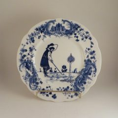 Royal Doulton Golf Series Picturesque Plate  #3 10.25″