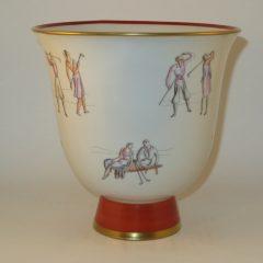 Gio Ponti Golf Vase for Richard Ginori  7.25″