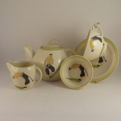 Susie Cooper Art Deco Golf Tea Set