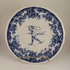 Mintons Pottery Golf Scene Rack Plate #2