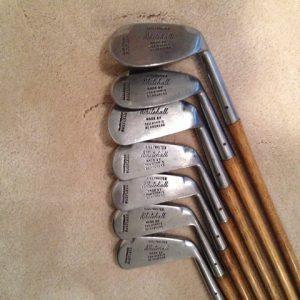 Tom Morris Lillywhites Set of 7 Rustless Irons