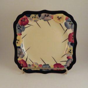 Royal Doulton Pansy Series Plate 7.75″