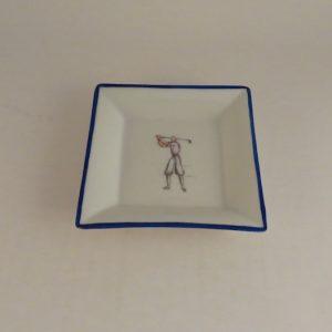 Richard Ginori Ceramic Golf Pin Dish by Gio Ponti #3