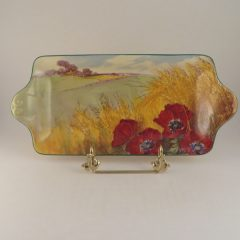 Royal Doulton Poppies Series Tray 11 x 5