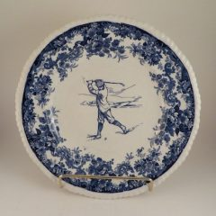 Mintons Pottery Golf Scene Rack Plate #2